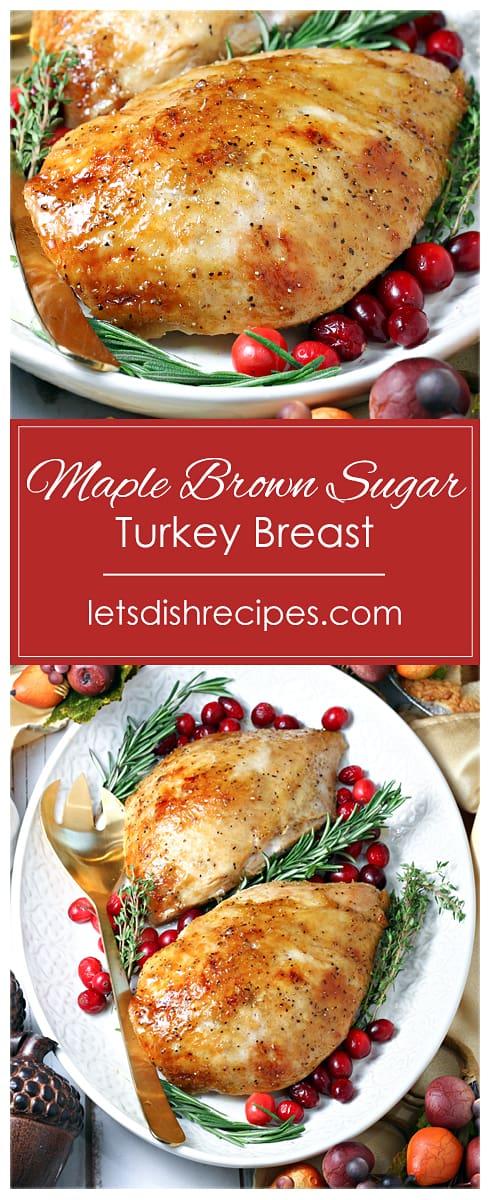 Maple Brown Sugar Turkey Breast