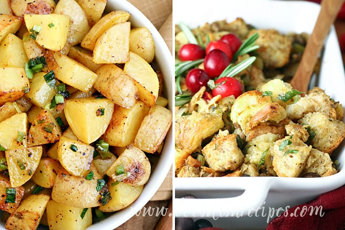 Potatoes and Stuffing