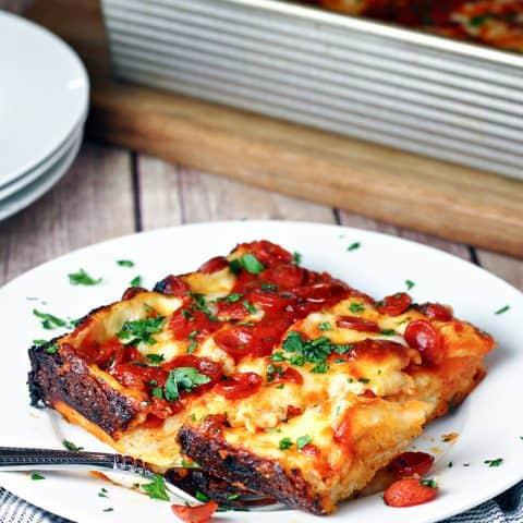 Detroit Style Pepperoni Pizza