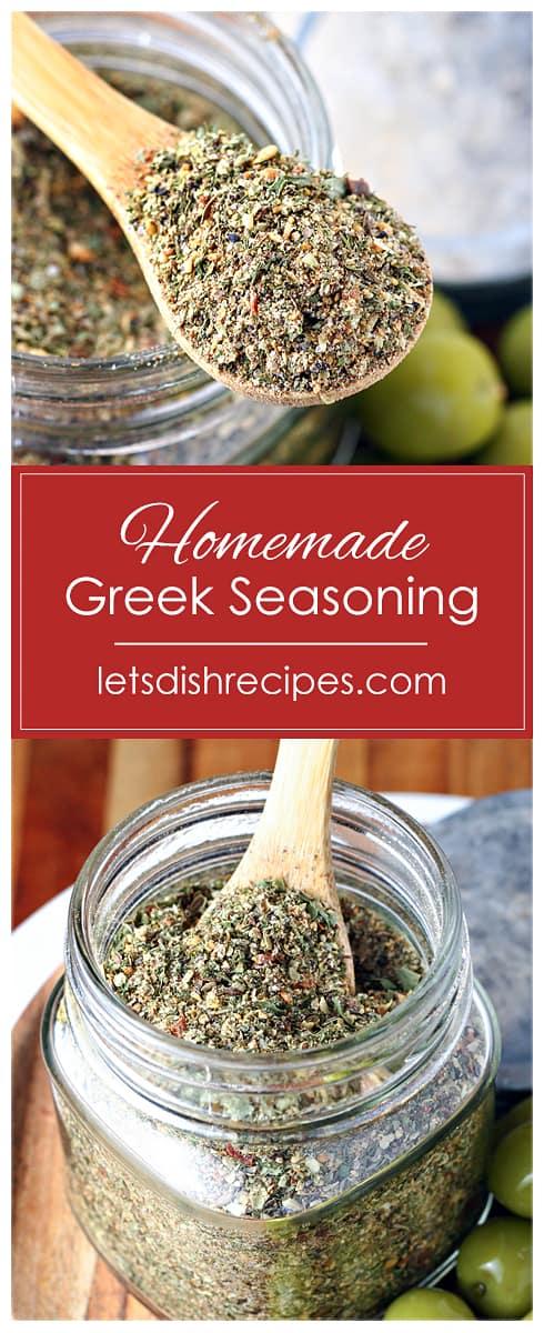 Homemade Greek Seasoning