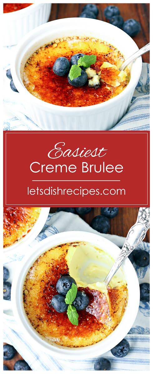 Easiest Creme Brulee