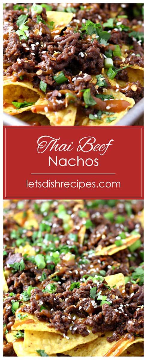 Thai Beef Nachos