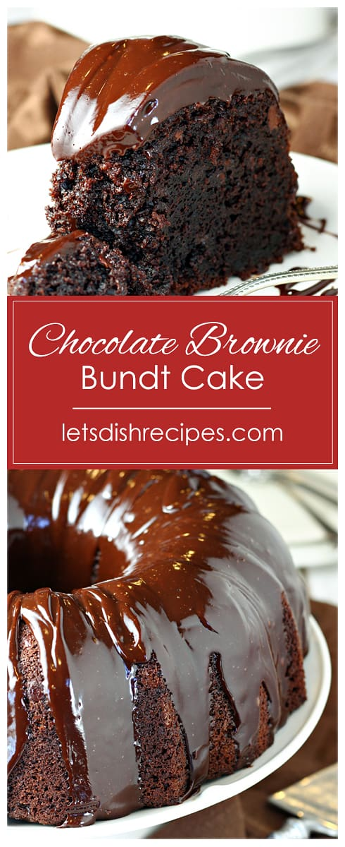 Chocolate Brownie Bundt Cake
