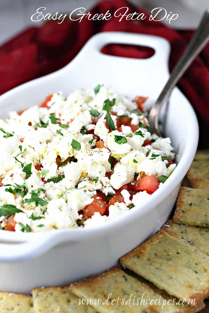 Easy Greek Feta Dip