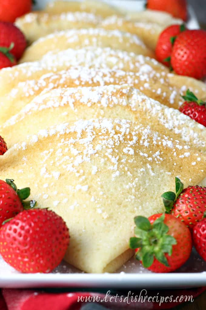 Favorite Homemade Crepes