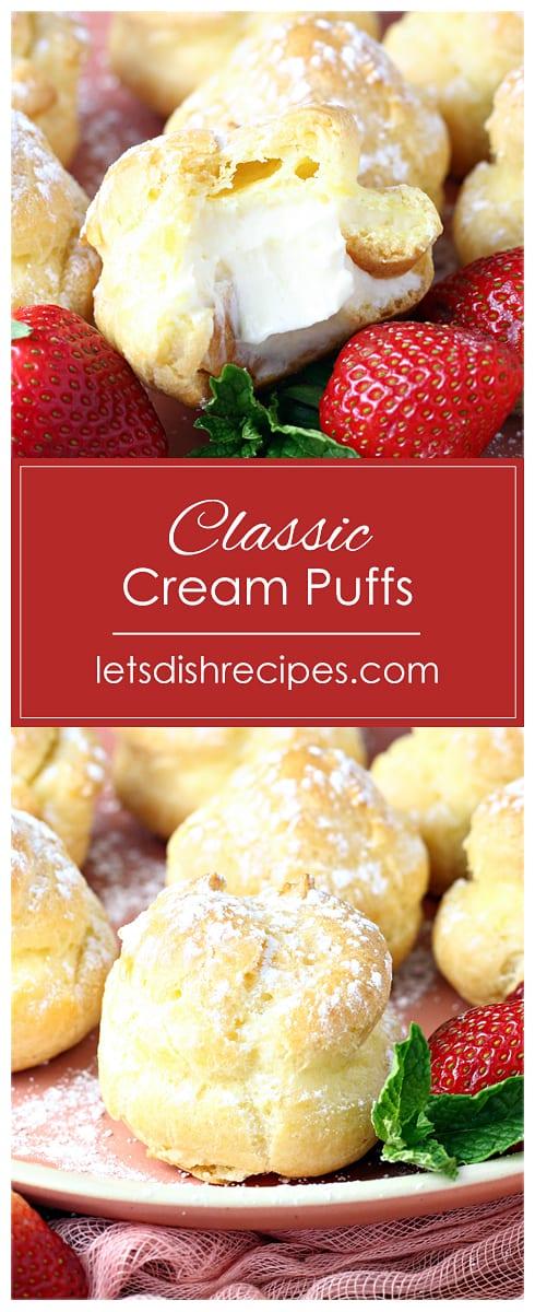 Classic Cream Puffs