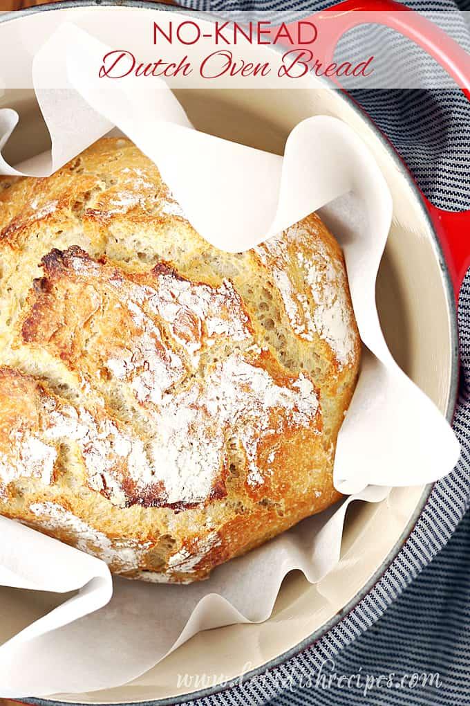 Easy No-Knead Dutch Oven Bread