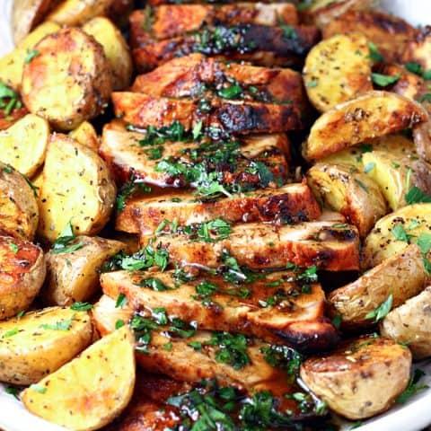 Honey Paprika Pork Tenderloin