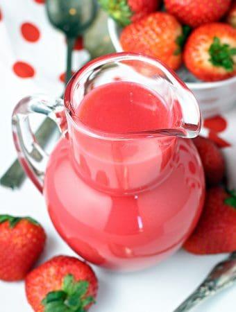 Strawberry Pancake Syrup