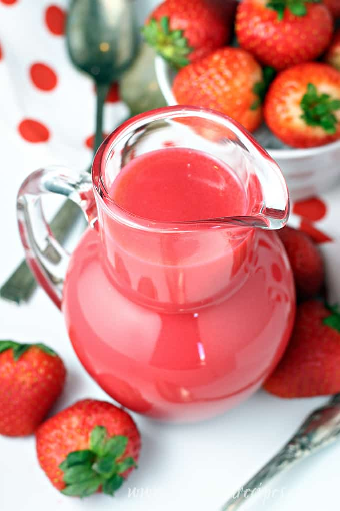 Strawberry Pancake Syrup