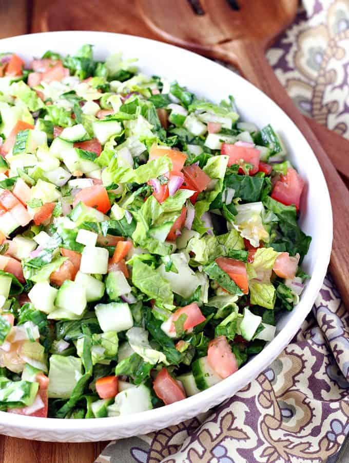Traditional Afghan Salad