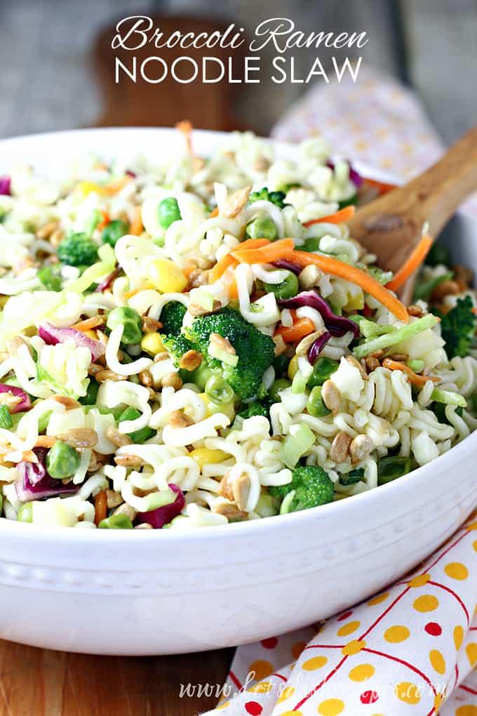 Broccoli Ramen Noodle Salad