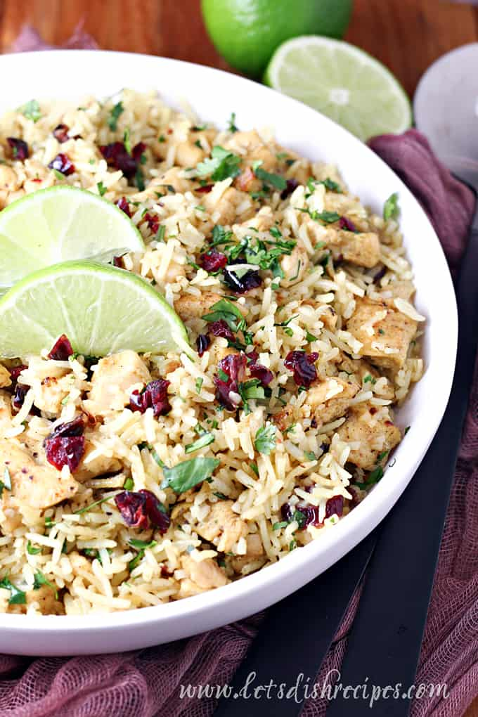 Skillet Curried Chicken and Rice
