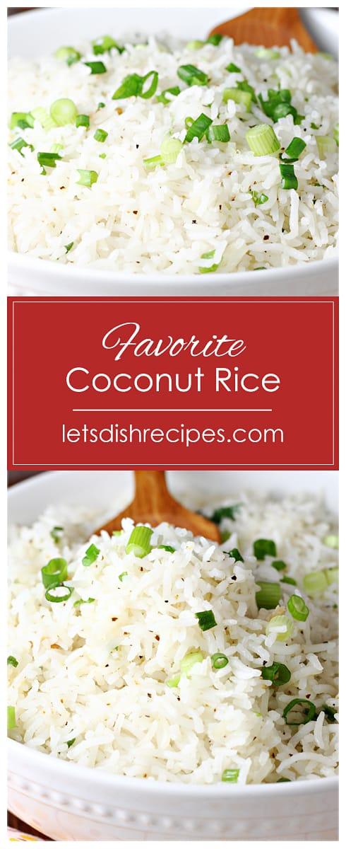 Favorite Coconut Rice