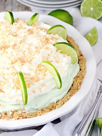 Mile High Key Lime Cream Pie