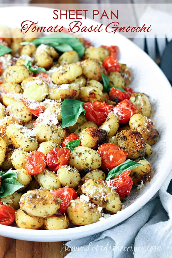 Sheet Pan Gnocchi and Tomatoes
