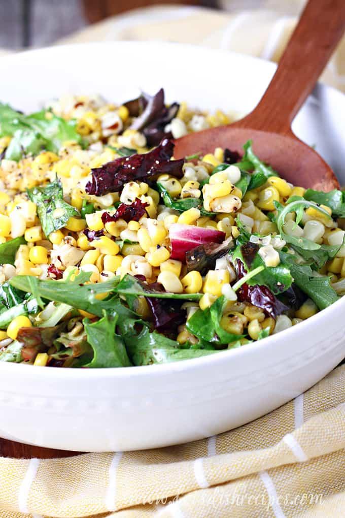 Warm Sweet Corn Salad