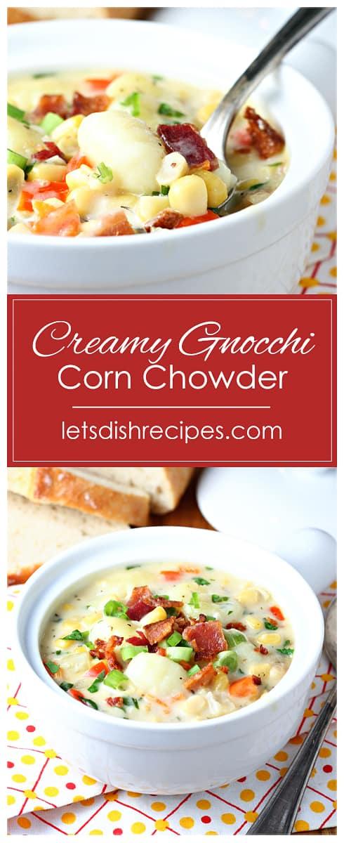 Creamy Gnocchi Corn Chowder