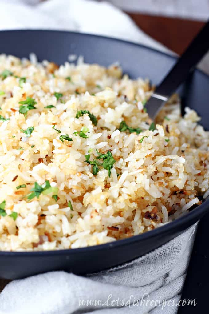 Crispy Basmati Rice