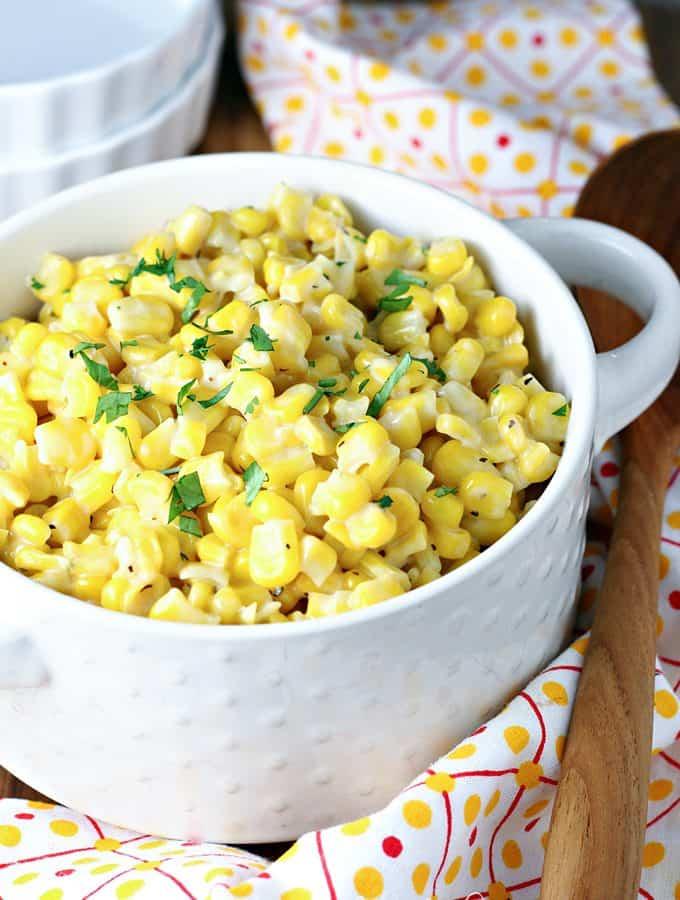 Easy Honey Butter Corn