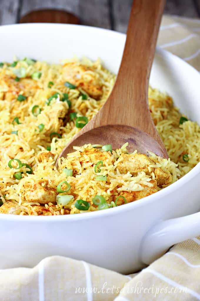 One Pot Yellow Chicken and Rice